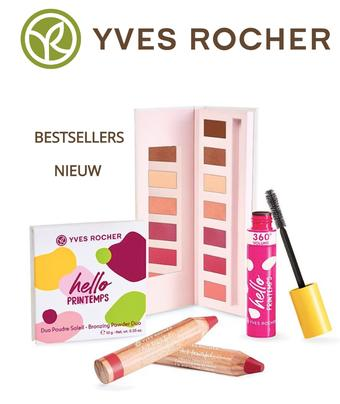 Yves Rocher reclame folder (geldig t/m 31-05)