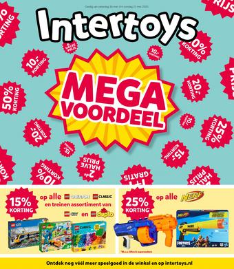 Intertoys reclame folder (geldig t/m 31-05)