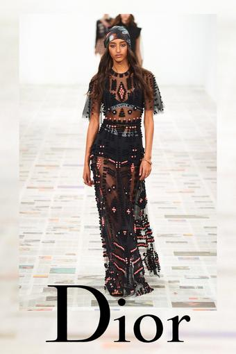 Dior reclame folder (geldig t/m 24-08)
