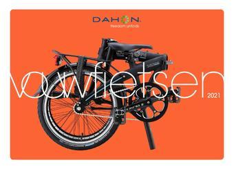 Dahon Vouwfietsen reclame folder (geldig t/m 25-10)