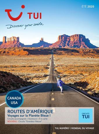 Nouvelles frontières catalogue publicitaire (valable jusqu'au 23-09)