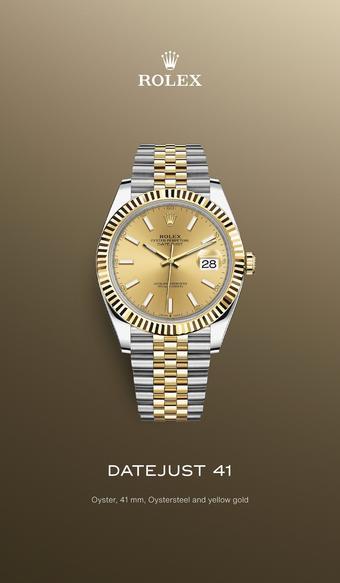 Rolex catalogue publicitaire (valable jusqu'au 05-07)
