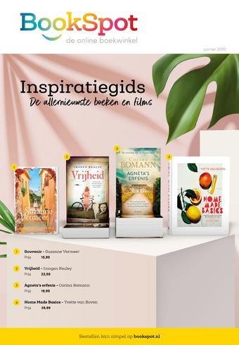 BookSpot reclame folder (geldig t/m 07-06)