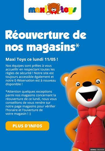 Maxi Toys catalogue publicitaire (valable jusqu'au 31-05)