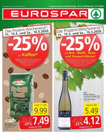 Eurospar Werbeflugblatt (bis einschl. 27-05)