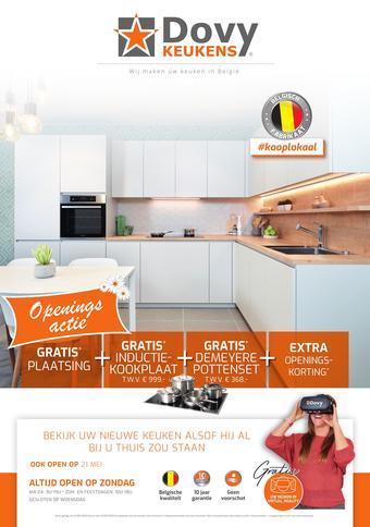 Dovy keukens reclame folder (geldig t/m 07-06)