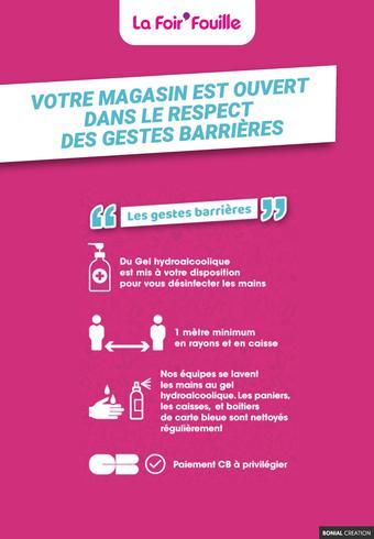 La Foir'Fouille catalogue publicitaire (valable jusqu'au 14-06)