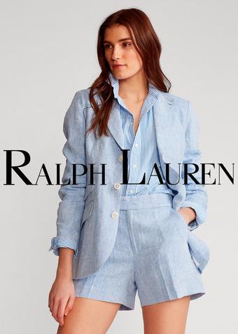 Ralph Lauren catalogue publicitaire (valable jusqu'au 13-07)