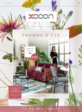Xooon catalogue publicitaire (valable jusqu'au 30-08)