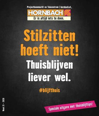 Hornbach reclame folder (geldig t/m 07-06)