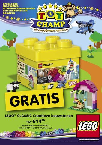 ToyChamp reclame folder (geldig t/m 31-05)