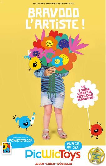 PicWicToys catalogue publicitaire (valable jusqu'au 31-05)