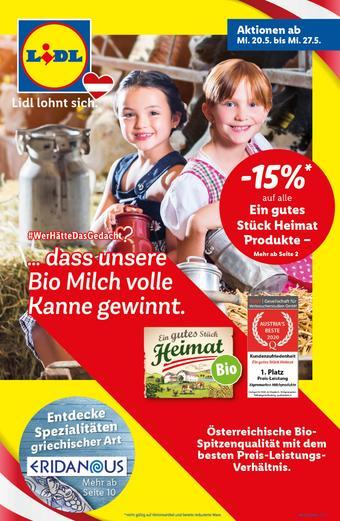 Lidl Werbeflugblatt (bis einschl. 27-05)
