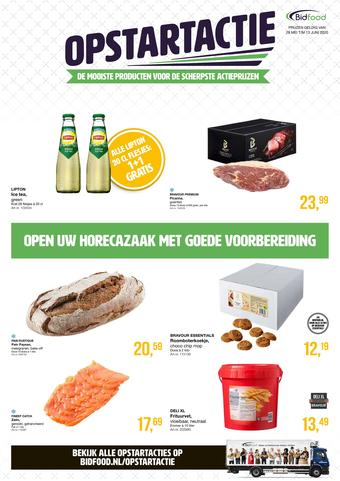 Bidfood reclame folder (geldig t/m 13-06)