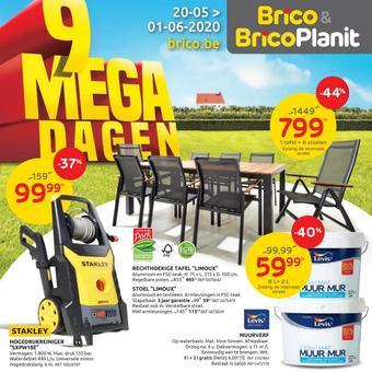 Brico reclame folder (geldig t/m 01-06)