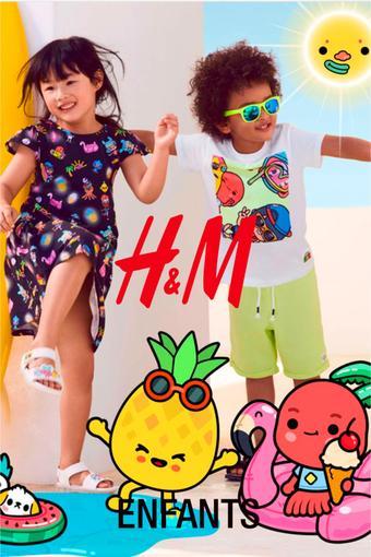 H&M reclame folder (geldig t/m 20-07)