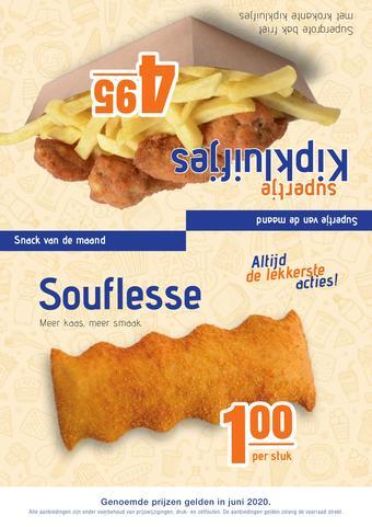 One 2 Eat reclame folder (geldig t/m 31-07)