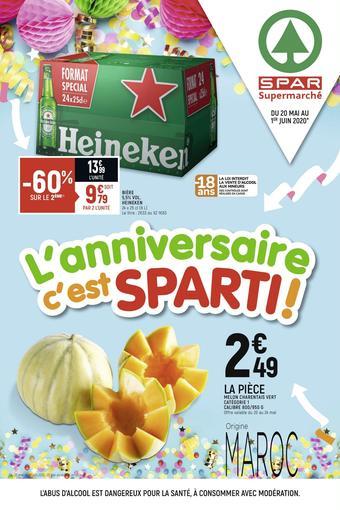 Spar catalogue publicitaire (valable jusqu'au 01-06)