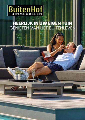 Buitenhof Tuinmeubelen reclame folder (geldig t/m 12-01)
