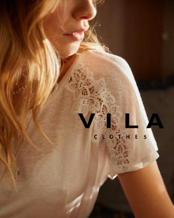 VILA Clothes reclame folder (geldig t/m 30-06)