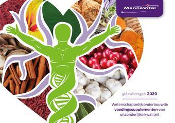 Mannavita reclame folder (geldig t/m 30-06)
