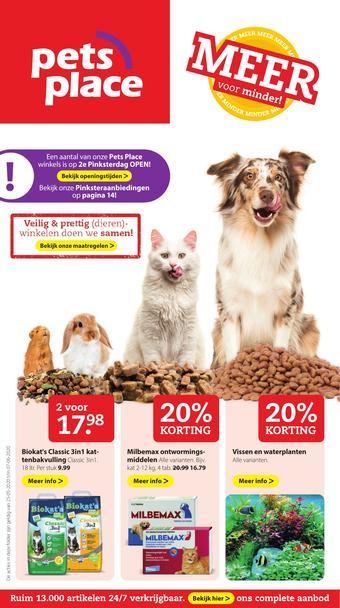 Pets Place reclame folder (geldig t/m 07-06)