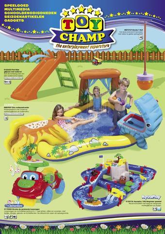 ToyChamp reclame folder (geldig t/m 21-06)