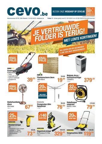 Cevo reclame folder (geldig t/m 03-06)