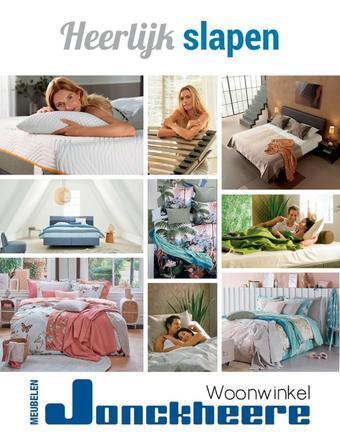 Meubelen Jonckheere reclame folder (geldig t/m 31-12)