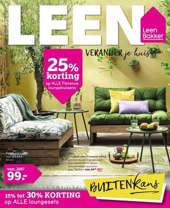 Leen Bakker reclame folder (geldig t/m 07-06)
