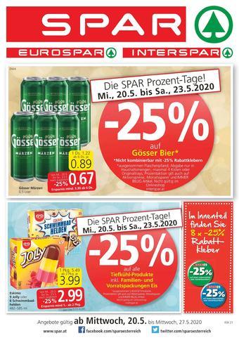 Spar Werbeflugblatt (bis einschl. 27-05)