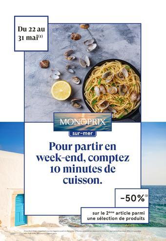Monoprix catalogue publicitaire (valable jusqu'au 31-05)