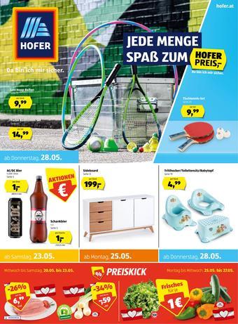 Hofer Werbeflugblatt (bis einschl. 30-05)