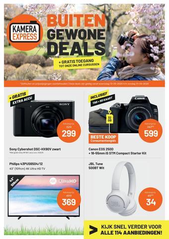 Kamera Express reclame folder (geldig t/m 07-06)