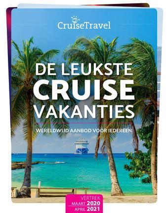 Cruise Travel reclame folder (geldig t/m 30-04)
