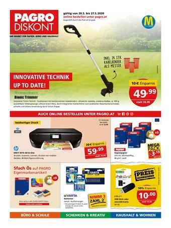 Pagro-Diskont Werbeflugblatt (bis einschl. 27-05)