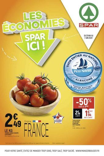 Spar catalogue publicitaire (valable jusqu'au 07-06)