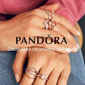 Pandora catalogue publicitaire (valable jusqu'au 15-07)