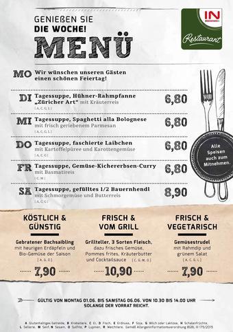 Interspar Restaurant Werbeflugblatt (bis einschl. 06-06)