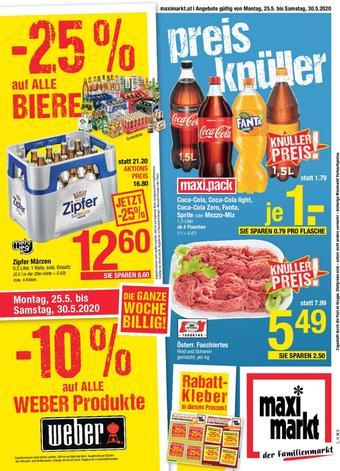 Maximarkt Werbeflugblatt (bis einschl. 30-05)