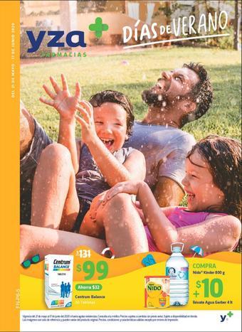 Farmacias YZA catálogo (válido hasta 17-06)
