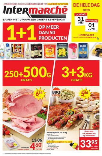 Intermarché reclame folder (geldig t/m 01-06)