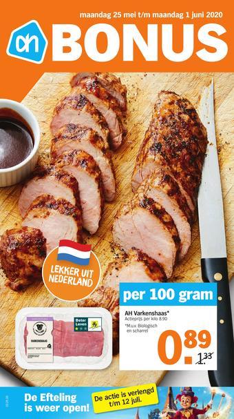 Albert Heijn reclame folder (geldig t/m 01-06)