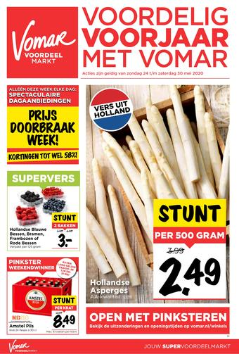 Vomar reclame folder (geldig t/m 30-05)