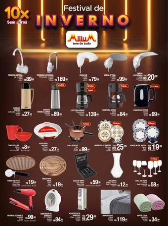 Milium catálogo promocional (válido de 10 até 17 07-07)