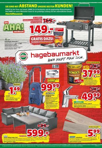 Hagebaumarkt Prospekt (bis einschl. 30-05)