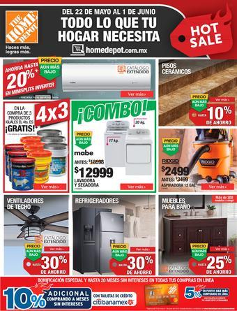 The Home Depot catálogo (válido hasta 01-06)