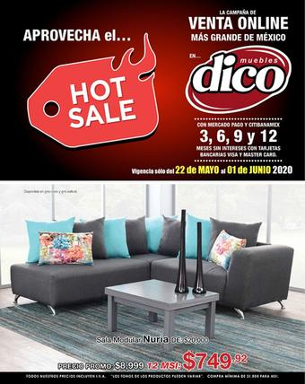Muebles Dico catálogo (válido hasta 01-06)