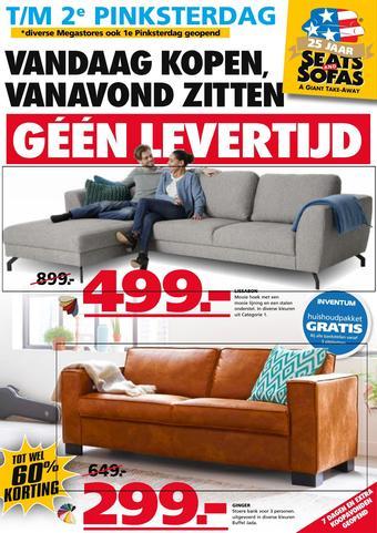 Seats and Sofas reclame folder (geldig t/m 01-06)