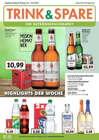 Trink und Spare Prospekt (bis einschl. 30-05)